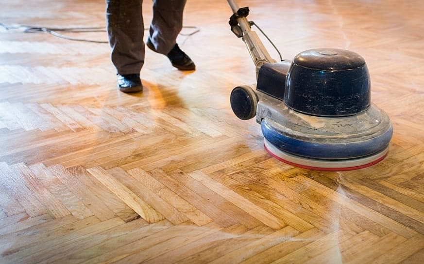Wood-floor-cleaning
